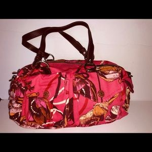 Oilily pink fabric purse new